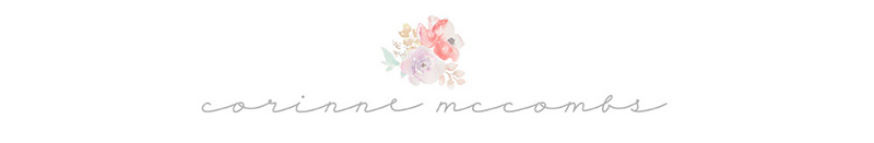 Corinne McCombs Photography ~ San Francisco Bay Area Newborn Child & Family Photographer logo